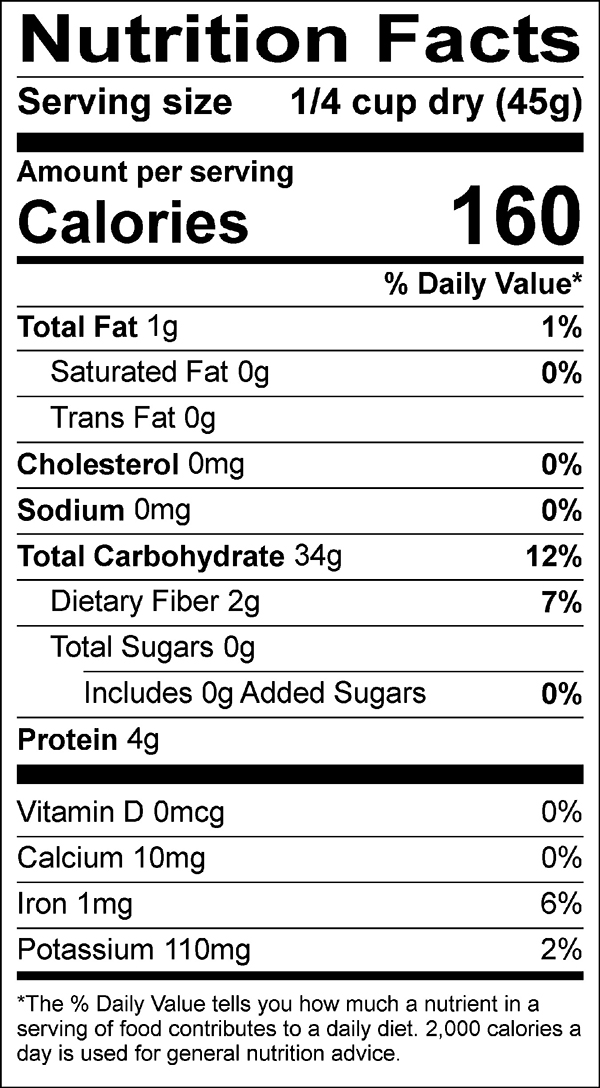 cardinal medley nutrition facts