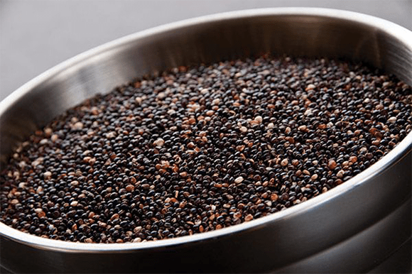 Black Quinoa, Toasted